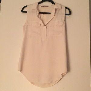 Off white LOFT blouse